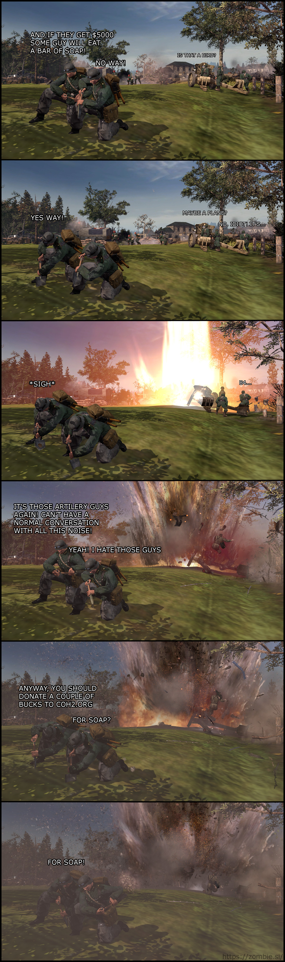 Coh 2 – For Soap!