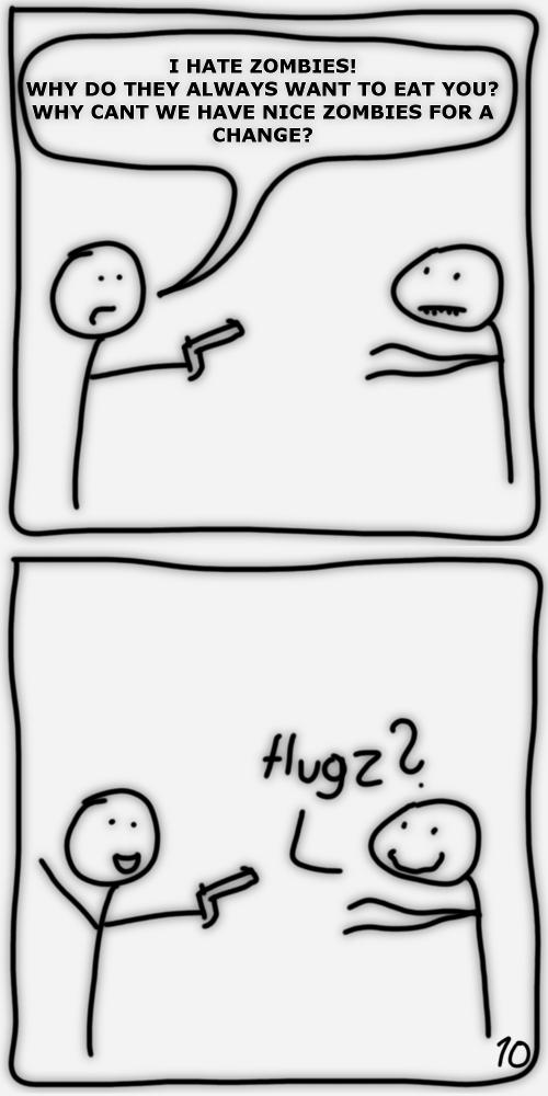 3 – Hugz!