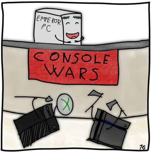 The next gen consoles fight to the death!
