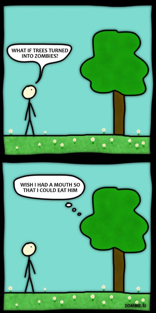 zombie trees?