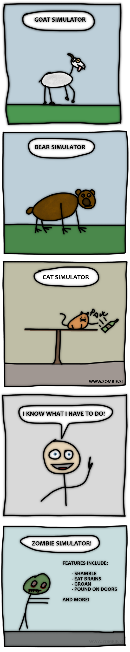 Simulator madness!