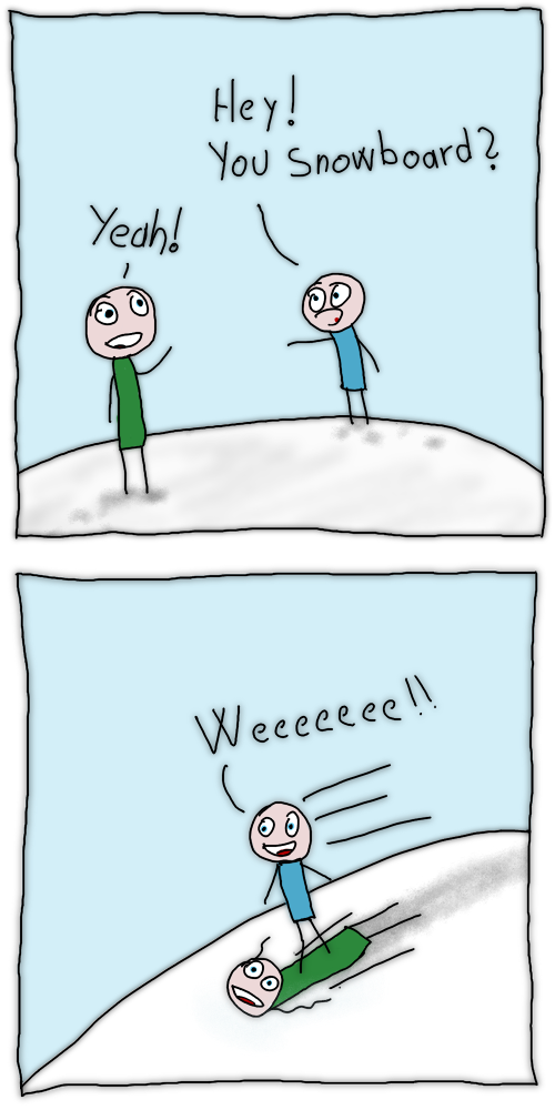 76 – Snow Boarding
