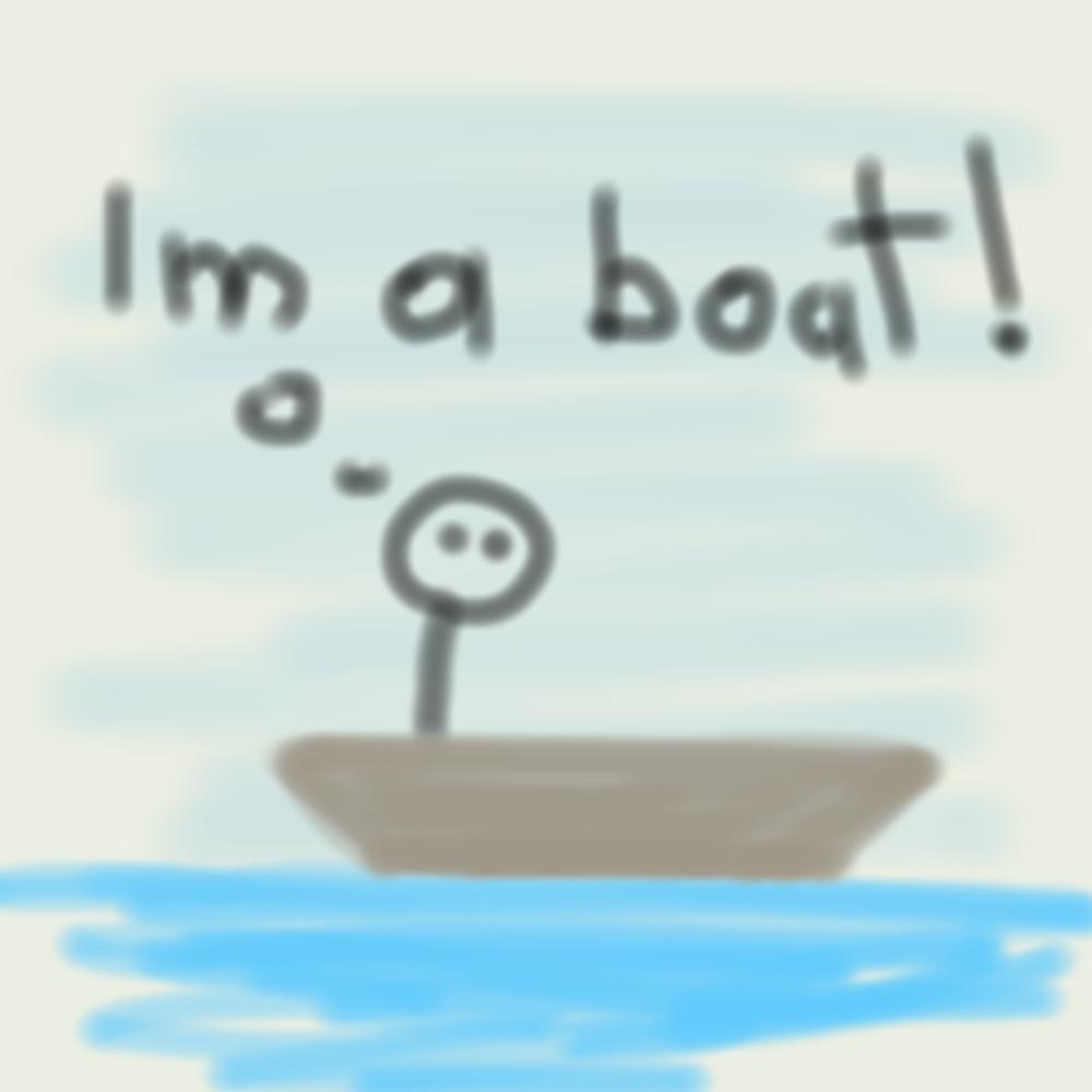 Boat drawing