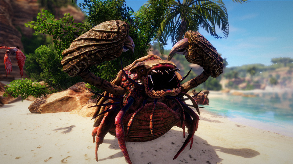 Crab from Risen 3