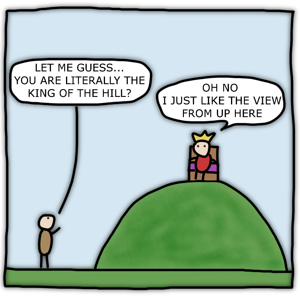 95 – King of the hill?