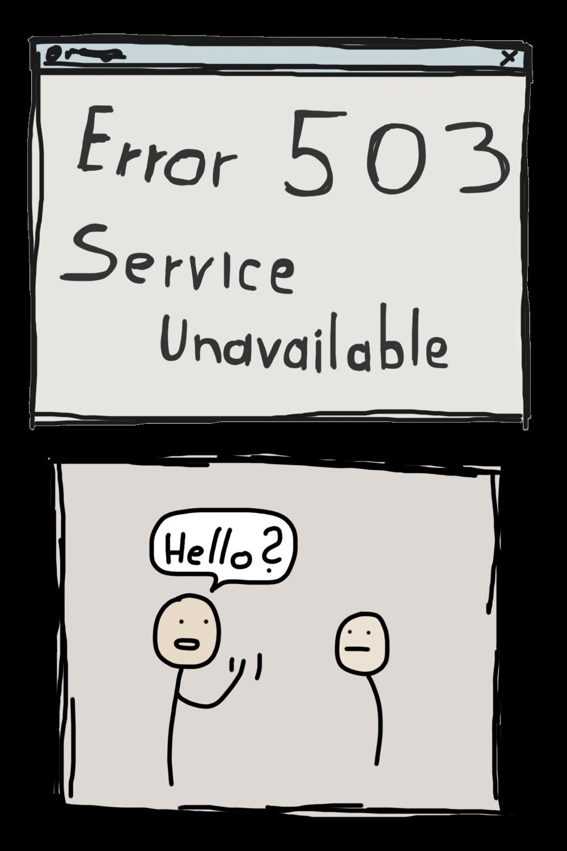 97 – Service Unavailable